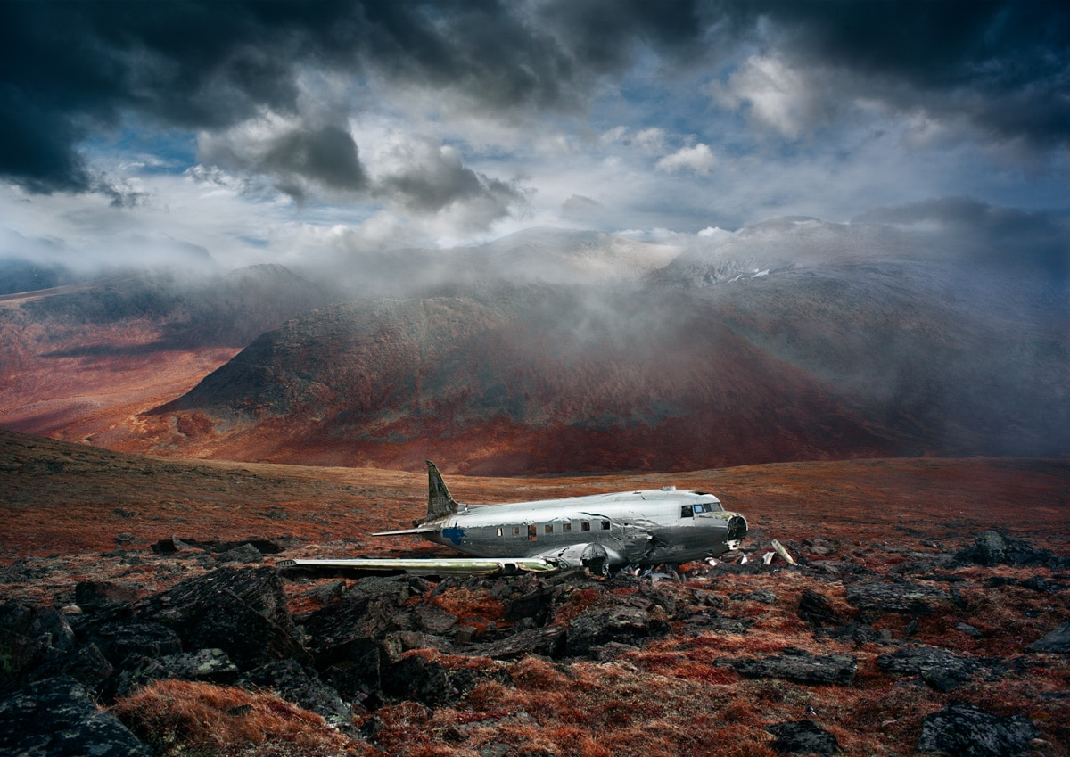 Yukon C-47 Crash site revisited, must see dramatic new photos